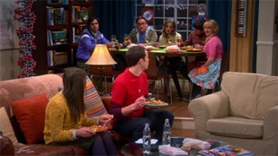 The Big Bang Theory 07x16 : The Table for Polarization- Seriesaddict